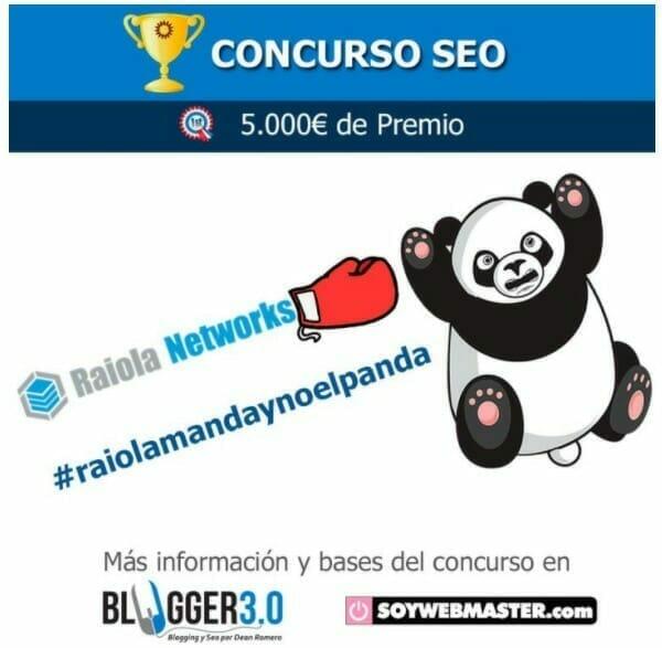 #ConcursoSEO – Raiola manda y no el panda
