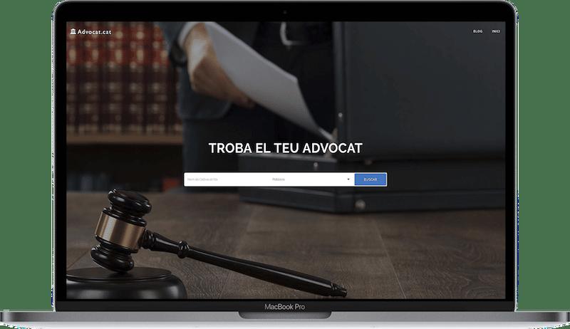 Web de Advocat Cataluña