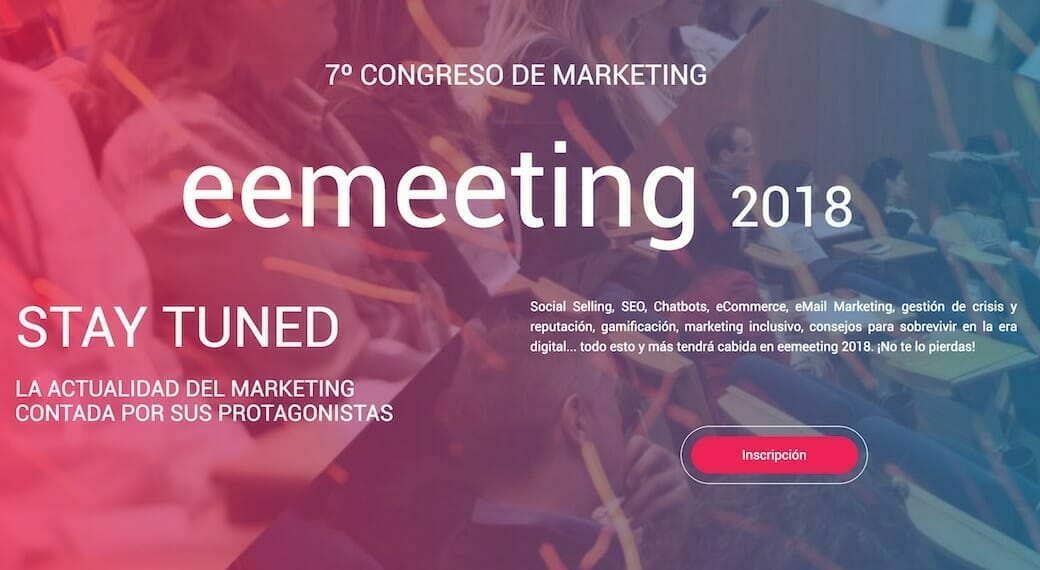 Congreso de Marketing eemeeting 2018